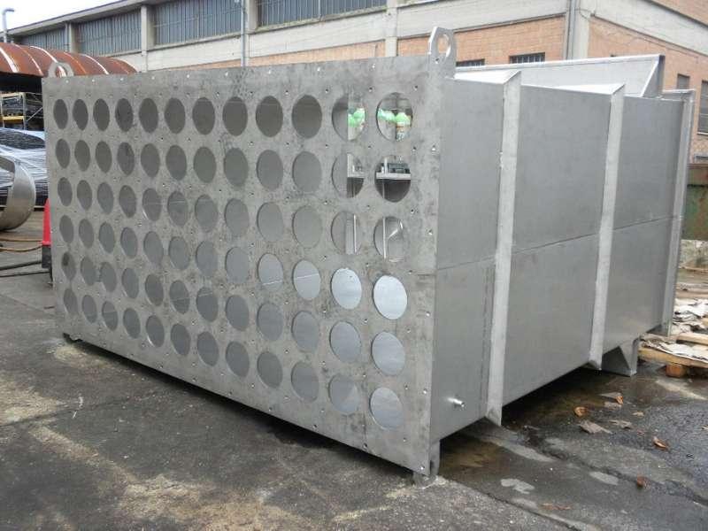 Corpo filtro in acciaio inox AISI 304 grandi dimensioni