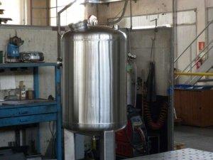 Serbatoio in acciaio inox AISI 304