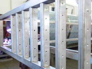 Telaio in acciaio inox AISI 304