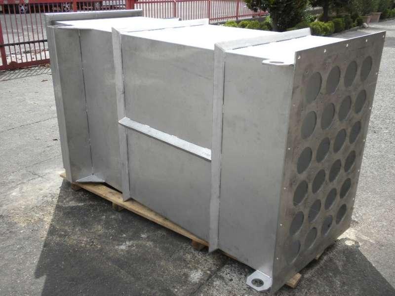corpo filtro in acciaio inox AISI 304 di piccole dimensioni