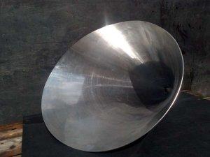 riduzione conica eccentrica in acciaio inox AISI 304