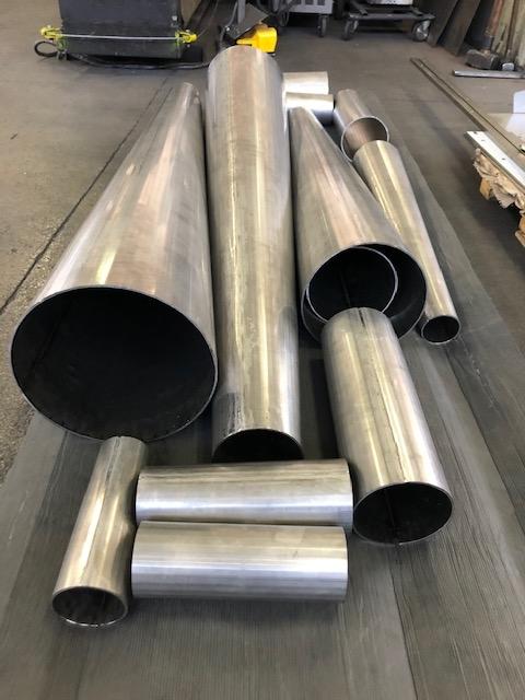 riduzioni coniche concentriche in acciaio inox AISI 304